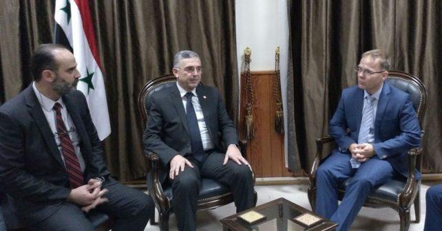 blex minister versöhnung syrien
