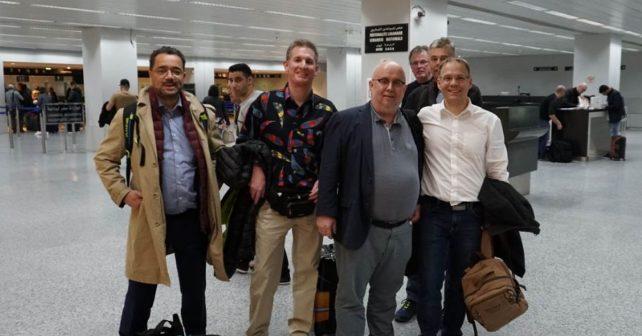 delegation flughafen