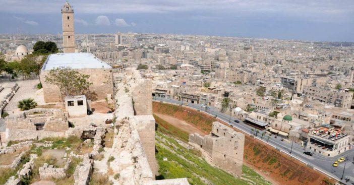 Aleppo von der Zitadelle aus