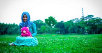 junge Muslima