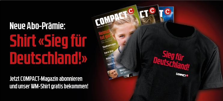 Aboprämie COMPACT-Magazin T-Shirt