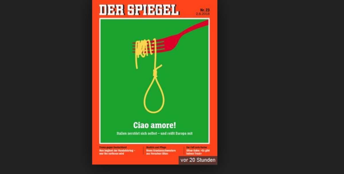 Hass macht dem mainstream spa spiegel covert galgen f r for Spiegel cover juni 2018