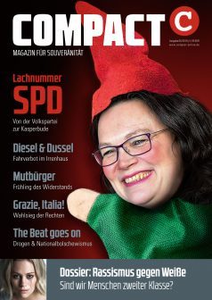 COMPACT im April 2018: Lachnummer SPD