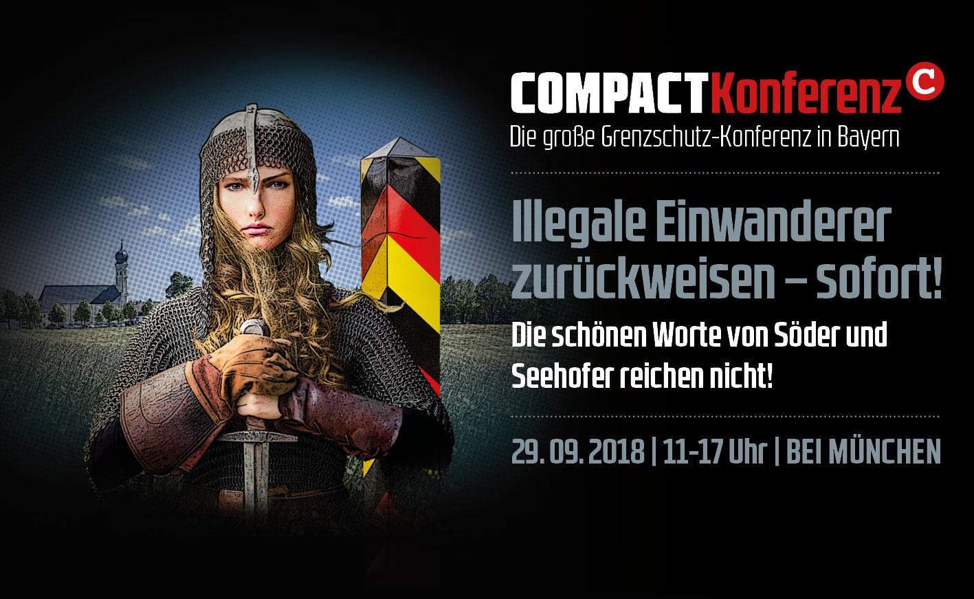 Die große COMPACT-Konferenz am 29.09.2018 im Raum München