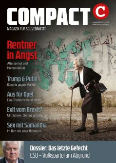 COMPACT-Magazin im August 2018
