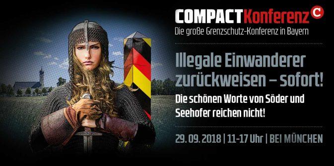 COMPACT-Konferenz am 29.09.2018 im Raum München