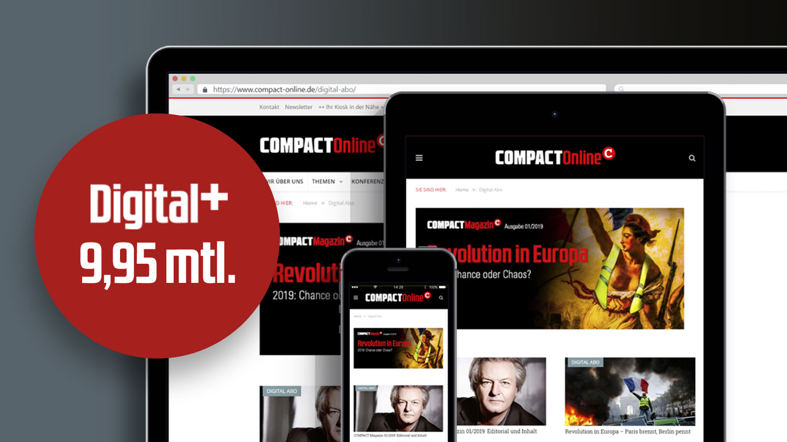 COMPACT - Jetzt den Digital-Pass holen – für Smartphone und Tablet