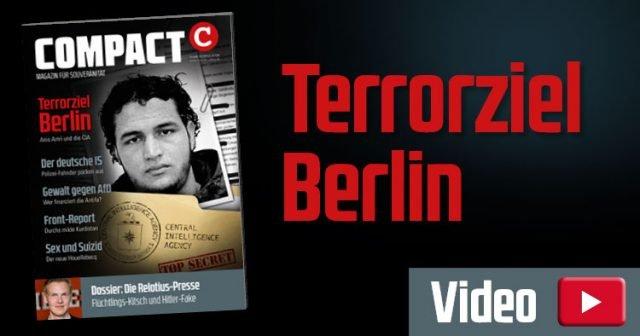Cover für COMPACT 02/2019 Terrorziel Europa: Anis Amri und die CIA