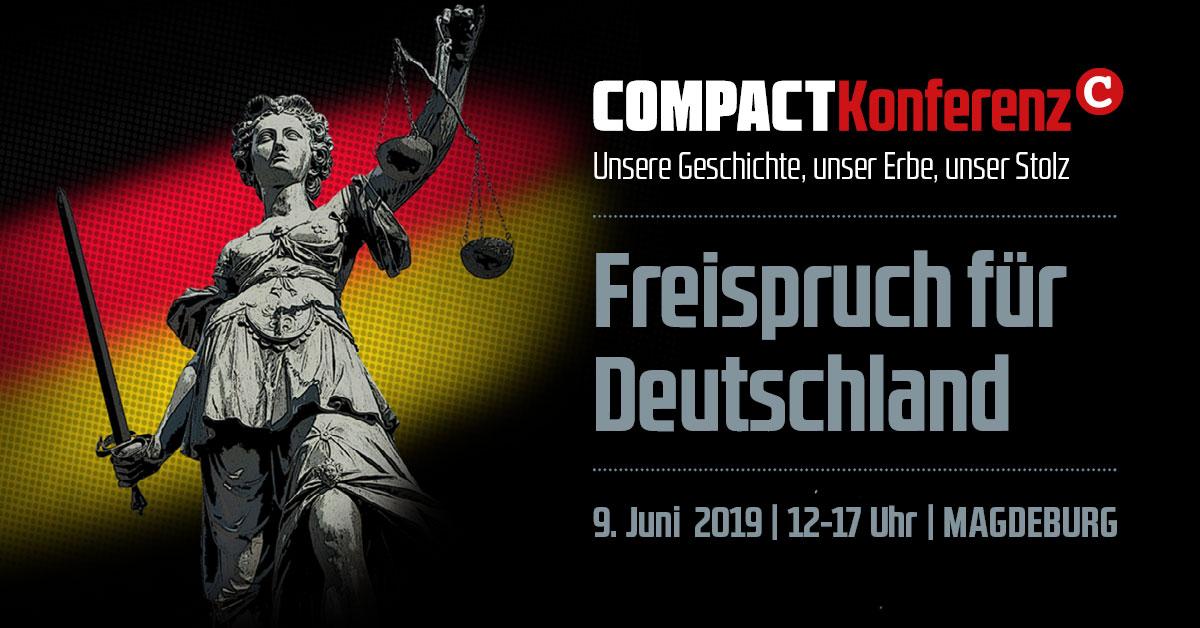 Freispruch für Deutschland. 1. Geschichtskonferenz von COMPACT