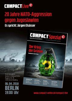 COMPACT Live 20 Jahre NATO-Angriff auf Jugoslawien