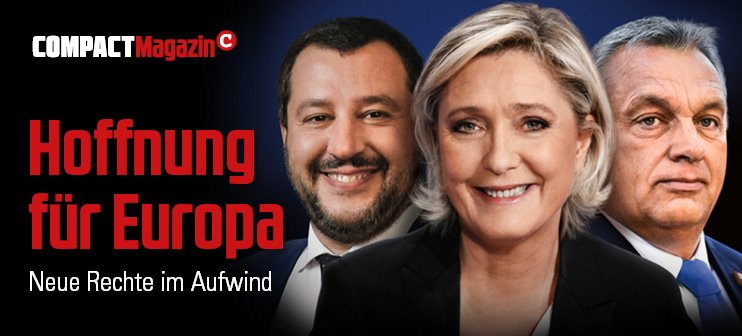 COMPACT 6/2019: Hoffnung für Europa