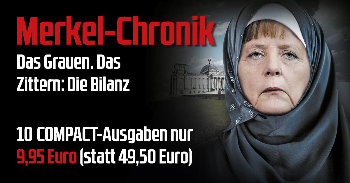 Merkel-Chronik: Das Grauen. Das Zittern. Die Bilanz.