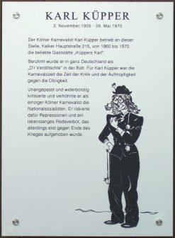 Küpper-Plakette-Köln-Kalk