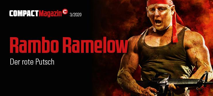 COMPACT-MAGAZIN März 2020: Rambo Ramelow. Der rote Putsch