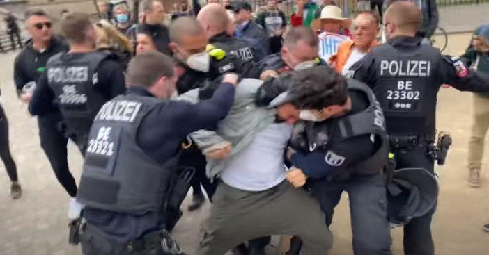 Hildmann Verhaftet