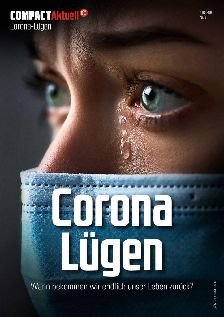 """""""Corona-Lügen"""": Jetzt vorbestellen – Versand ab 13. Oktober."""