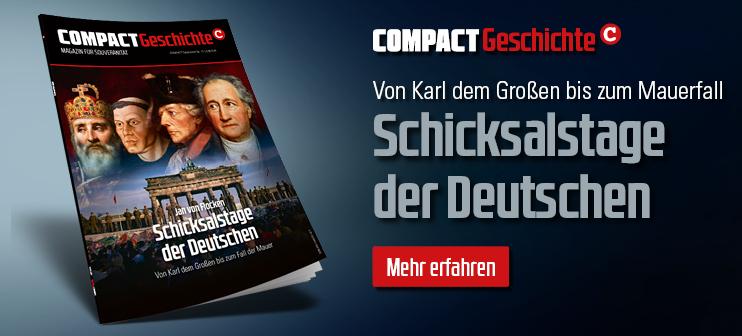 COMPACT-Geschichte 12: Jan von Flocken: Schicksalstage der Deutschen
