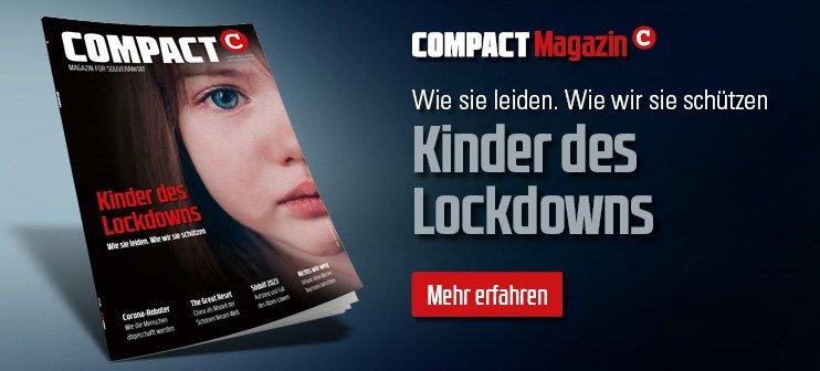 COMPACT 3/2021: Kinder des Lockdowns. Wie sie leiden. Wie wir sie schützen.