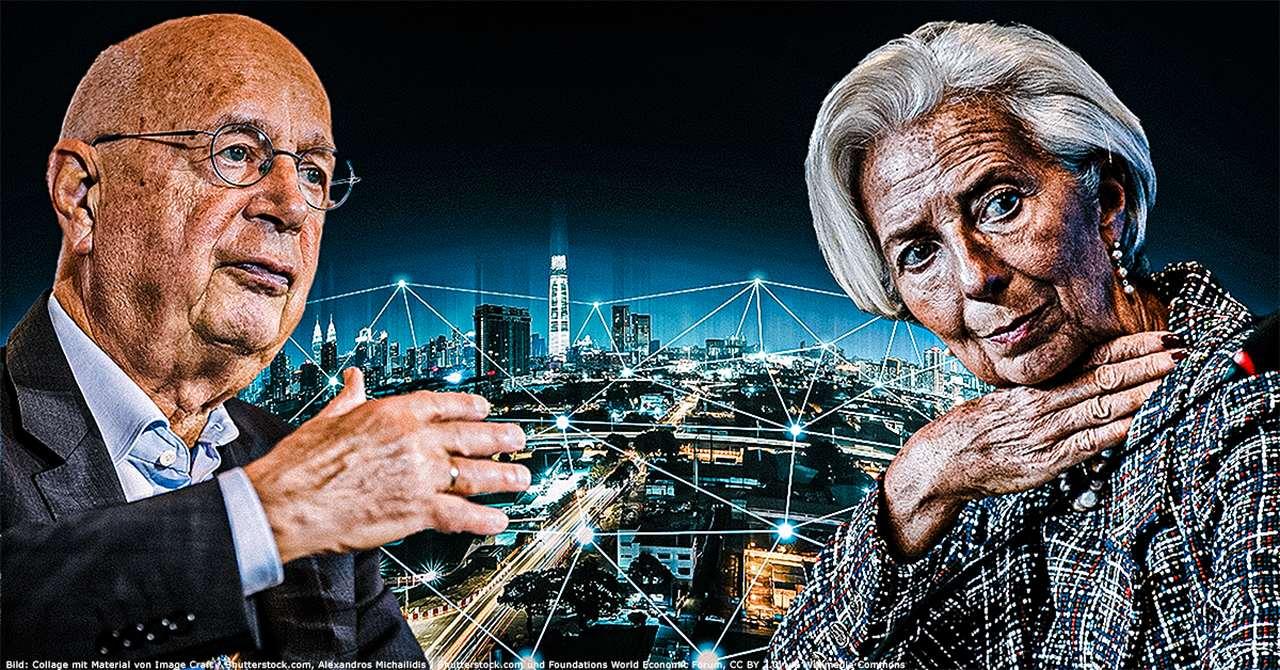 Great Reset: Lagarde und Schwab plaudern über ihre Zukunftspläne